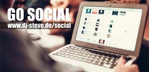 Go Social: Beiträge von Facebook, Twitter und Instagram auch auf dj-steve.de