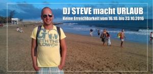 DJ Steve macht Urlaub