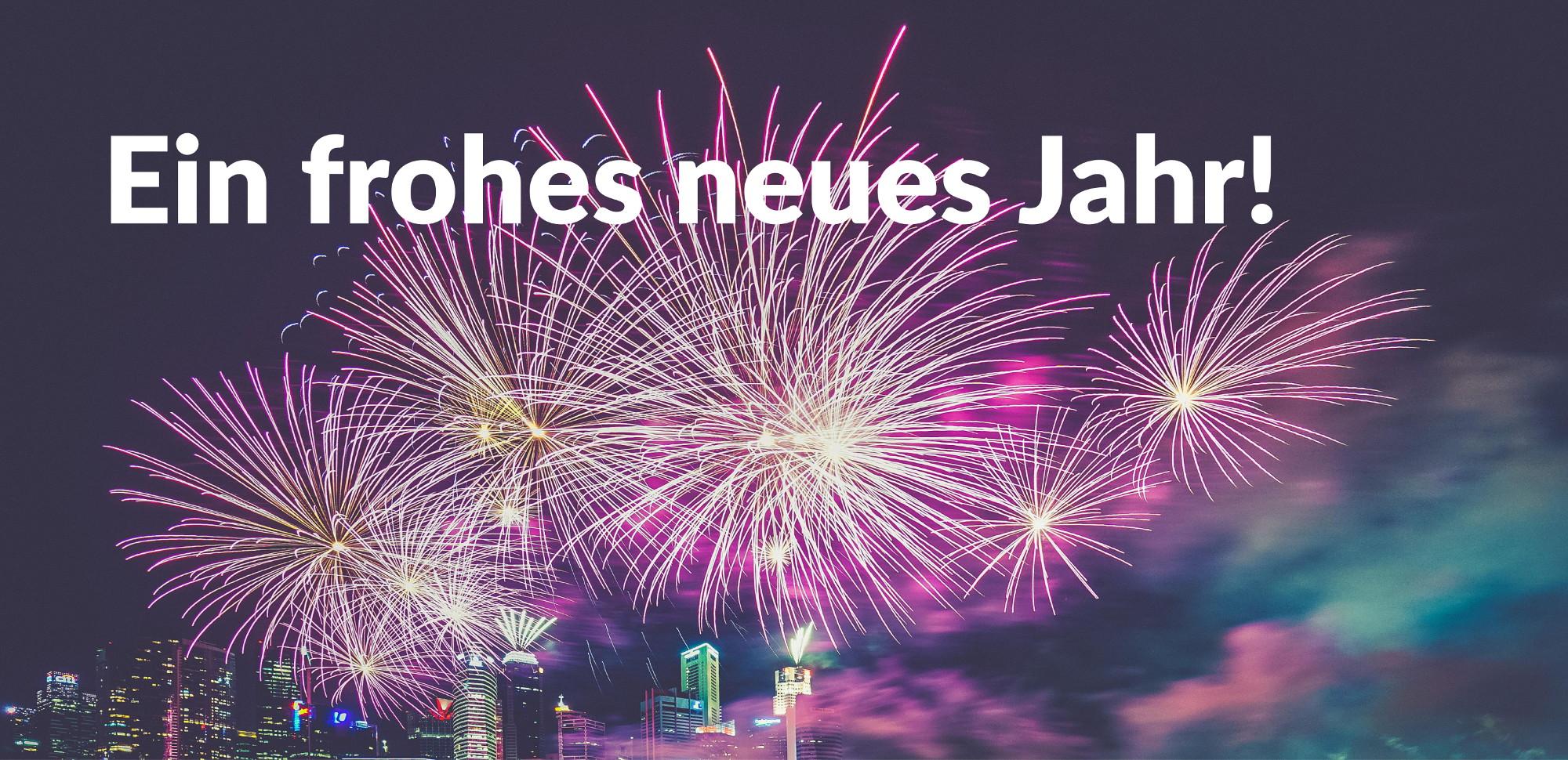Ein frohes neues Jahr! / Updates Webseiten